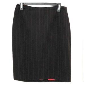Anne Taylor Loft pin stripe pencil skirt